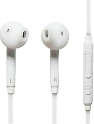 cheap -White In-Ear Headphones Headset Earphones for Samsung ,PC,CellPhone