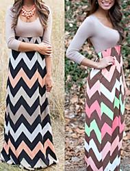 preiswerte -Kleid Strickware