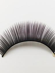 1 Cílios Pestana Tiras Completas de Cílios Olhos Fabrico à Máquina Fibra Black Band 0.05mm 10mm