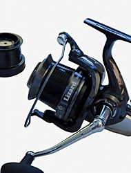 cheap -Fishing Reel Spinning Reels 4.1:1 Gear Ratio+14 Ball Bearings Exchangable Sea Fishing Spinning Jigging Fishing Freshwater Fishing General