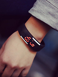 cheap -Men's Women's Couple's Bracelet Watch Fashion Watch Digital LED Rubber Band Elegant Black White Blue Red Orange Green Pink Yellow