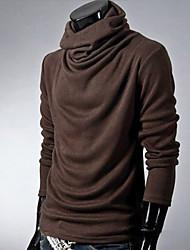 povoljno -Majica s rukavima Muškarci Dnevno Jednobojni