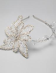 pulseiras de liga de strass headpiece clássico estilo feminino