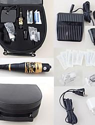 economico -permanente trucco sopracciglio kit trucco ugelli macchina / 6 aghi / 6 tip / caso / cappucci dell'inchiostro / pedale grado superiore