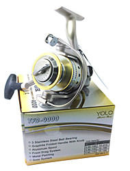 4000 Size Super Quality Sea Fishing Reel Carp Fishing Reel Spinning Fishing Reel