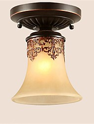 cheap -Flush Mount Uplight - LED, Rustic / Lodge Vintage Lantern Country Traditional / Classic Retro, 110-120V 220-240V, Warm White Cold White