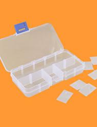 Недорогие -10 решетка пластиковая коробка коробка Коробка электроника один винт части окна шкатулка