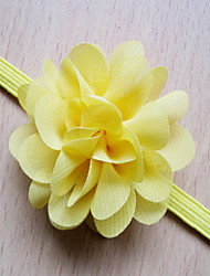 cheap -Childern Baby Hairband Girls Lace Hair Accessories Baby Girl Chiffon Flower Headband Infant Hair Weave Band