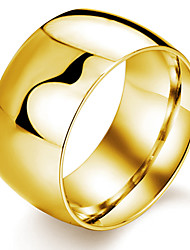 cheap -Stainless Steel Plating 24 K Gold Men's Ring Classical Feminine Style