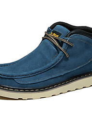 Men's Shoes Outdoor / Office & Career / Work & Duty / Athletic / Casual Suede Boots Blue / Yellow