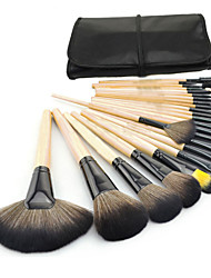 24Pcs Professional Cosmetic Make up Makeup Brushes Set Foundation Blusher Kabuki