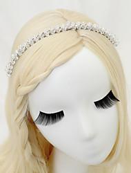 cristal imitação pérolas de liga de pérolas cabeça estilo elegante