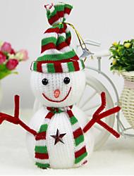 Christmas Tree Ornament Snowman Pendant