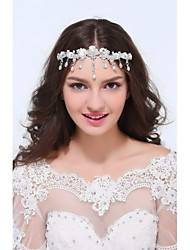 Women's Sterling Silver Alloy Headpiece - Wedding Special Occasion Casual Head Chain 1 Piece