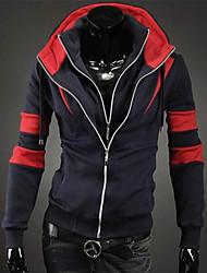 MEN - Giacche e cappotti - Informale / Lavoro Felpa con cappuccio - Maniche lunghe Cotone