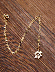 cheap -Women's Pendant Necklace - Snowflake Necklace For Wedding, Party, Daily
