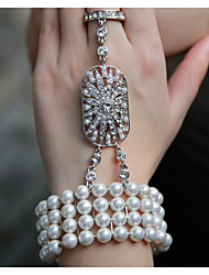 cheap -Pearl Chain Bracelet - Vintage Party Work Casual Bracelet For Party