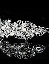 Imitation Pearl Rhinestone Headbands Headpiece Classical Feminine Style