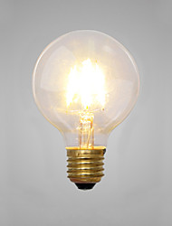 cheap -Decorative Incandescent Bulbs , E14 / E26/E27 2 W 2 COB LM Yellow AC 220-240 V