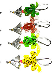 cheap -4 pcs Fishing Lures Spoons Metal Sea Fishing General Fishing