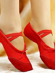 Женская обувь - Кожа/Материя - Номера Настраиваемый (Черный/Розовый/Красный/Белый) - Балет