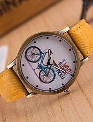 Pánské Módní hodinky Náramkové hodinky Hodinky na běžné nošení Křemenný Materiál Kapela Přívěsek Běžné nošení Vícebarevný