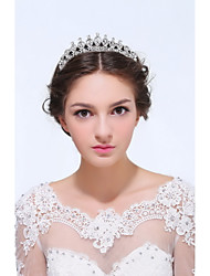 alliage en argent sterling tiaras bandeau style féminin classique