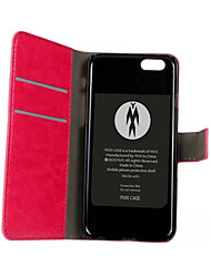 Недорогие -Кейс для Назначение iPhone 4/4S / Apple iPhone 4s / 4 Чехол Твердый Кожа PU