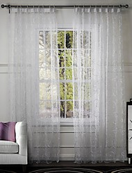 cheap -One Panel Curtain Designer Living Room Poly / Cotton Blend Material Curtains Drapes Home Decoration For Window