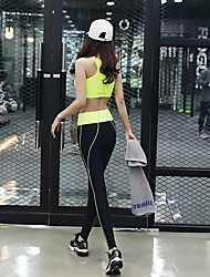 Women's Running Tank Running Pants Sleeveless Lightweight Materials Pants / Trousers Tank Clothing Suits Bottoms for Yoga Pilates