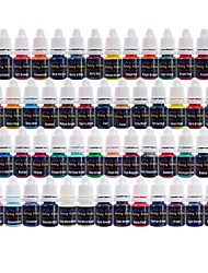 Solong Tattoo Inks 54 Colors Set 8ml/Bottle Tattoo Pigment Kit