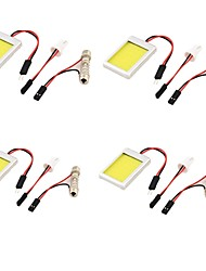 cheap -SO.K 4pcs T10 Light Bulbs COB 1100lm Turn Signal Light For universal