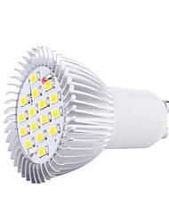 cheap -1pc 5W GU10 LED Spotlight 16 SMD5630 3000K/6500K Decorative AC85-265V