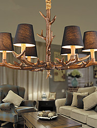 cheap -Chandeliers / Pendant Lights LED Vintage Living Room / Bedroom / Dining Room / Study Room/Office / Game Room Resin