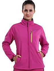 billige -Dame Softshell jakke til trekking Udendørs Vinter Vandtæt Hold Varm Vindtæt Isolerende Regn-sikker Påførelig Vinterjakke Softshell-jakker