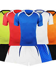 cheap -Men's Soccer Clothing Suits Breathable Summer Fall Fashion Classic 100% Polyester Football / Soccer