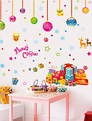 Animais / Botânico / Romance / Vida Imóvel / Moda / Floral / Fantasia Wall Stickers Autocolantes de Aviões para Parede , PVC50x70x 0.1cm