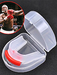 cheap -Mouthguards Taekwondo Sanda Muay Thai Boxing Karate Portable Multifunction Double Sided Protective Gear Silica Gel Food Grade Material-