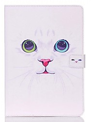 White Cat Pattern Standoff Protective Case for iPad Air 2 iPad  Cases / Covers