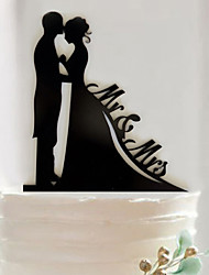 cheap -Wedding Party Supplies Cake Accessory Fondant Cake Decorating Tools Personalized Customized Acrylic Cake Topper