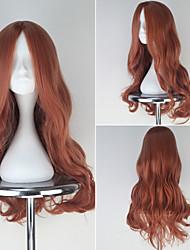 Cosplay Wigs Love Live Cosplay Orange Medium Anime Cosplay Wigs 63 CM Heat Resistant Fiber Female