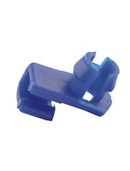 baratos -100 unidades braçadeiras da extremidade da haste de bloqueio de porta fecho de 6 milímetros auto carro plástico buraco dia