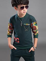 Boy's Cotton Clothing Set,Spring / Fall Print