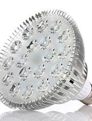 Недорогие -morsen® 54W E27 1450lm Полный спектр привело растут огни цветок лампа (85-265В)