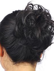 abordables -4-30 / blond / 22-613 Classique / Bouclé Chignon Cheveux Synthétiques Pièce de cheveux Extension des cheveux Classique / Bouclé Quotidien