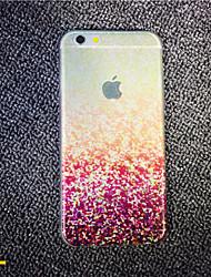 para o iphone 7 maycari® o mosaicos loucos TPU transparente caso volta para o iPhone 6s 6 mais