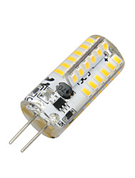 cheap -2W G4 LED Corn Lights T 48 LEDs SMD 3014 Warm White 100-200lm 3000-3500K AC 12V