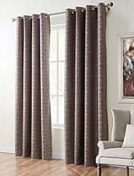 cheap -TWOPAGES Zac Collection Woodgrain Classic Diamond Soft Handfeel Panel CurtaIn Drapes (One Panel) Stone