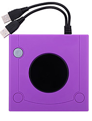 abordables -PC / Wii U / Nintendo Wii U - # - WU-GC001T - Novedad - ABS - USB - Adaptador y Cable - PC / Wii U / Nintendo Wii U
