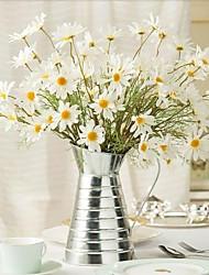 cheap -Artificial Flowers 1 Branch Pastoral Style Sunflowers / Daisies / Magnolia Tabletop Flower